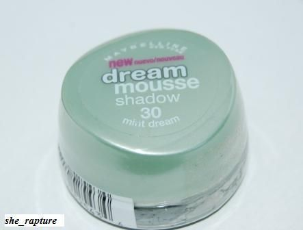 Maybelline dream mousse shadow mint green