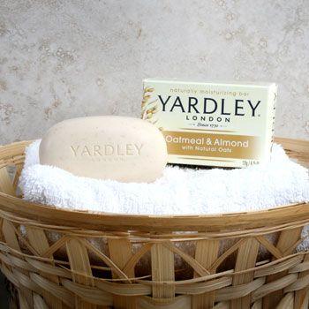 Yardley Natural Oatmeal & Almond Moisturizing Soap