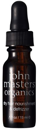 John Masters dry hair nourishment and defrizzer