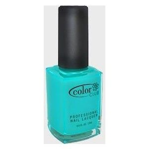 Color Club Nail Polish - Bizerk Turq
