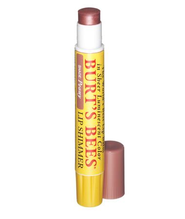 Burt's Bees Lip Shimmer in Peony