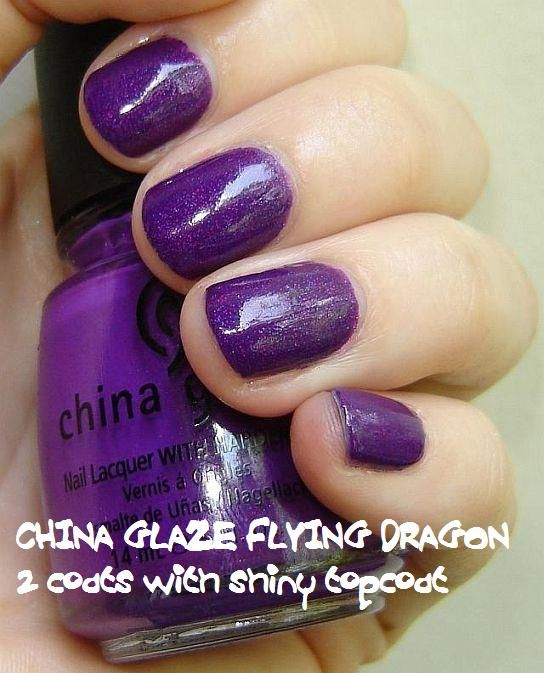 China Glaze Flying Dragon