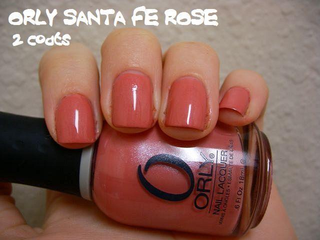 Orly Santa Fe Rose
