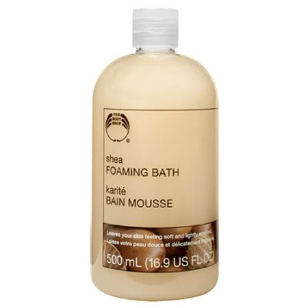 The Body Shop Shea Foaming Bath