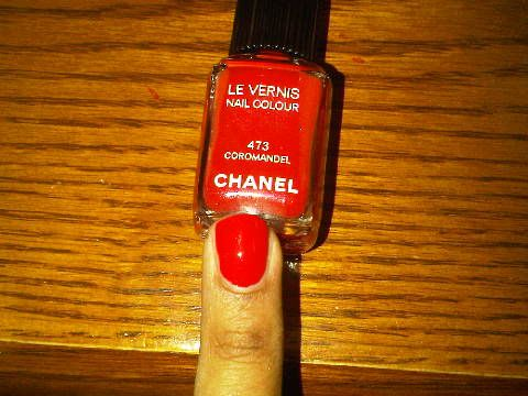 Chanel Le Vernis Nail Colour in Rouge Coromandel #473