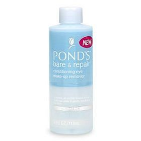 Ponds bare and repair conditioning eye makeup remover with grapeseed extract and vitamin e [DISCONTINUED]