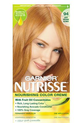 Garnier Nutrisse Permanent Creme Hair Color Reviews