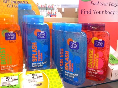 Clean & Clear Morning Burst Body Wash