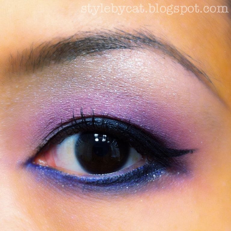 Maybelline eye studio color explosion in amethyst ablazed
