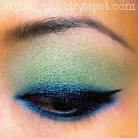 E.L.F. Studio Matte Eyeshadow Mint