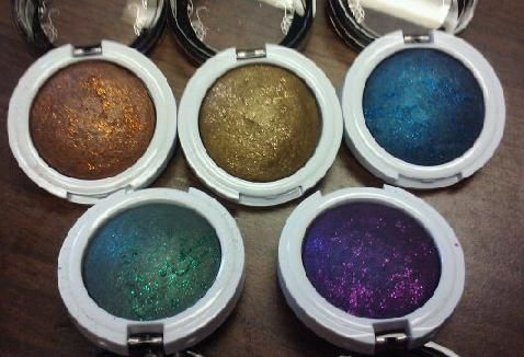 Hard Candy Meteor-Eyes Baked Glitter Eyeshadow Space Cadet