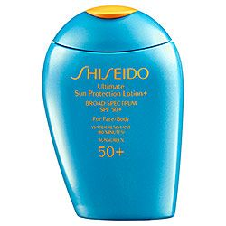 Shiseido  Ultimate Sun Protection Lotion + Broad Spectrum Spf 50+