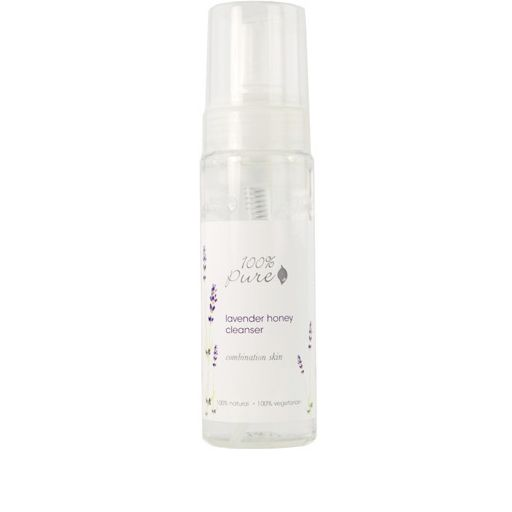 100 Percent Pure Lavender Honey Foam Facial Cleanser
