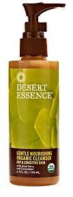 Desert Essence Gentle Nourishing Organic Cleanser Dry & Sensitive Skin