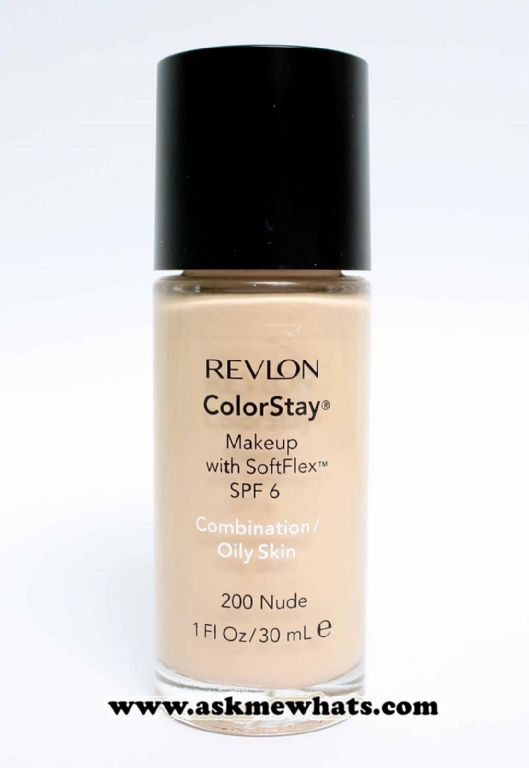 Revlon ColorStay Makeup with SoftFlex SPF 6 for Combination/Oily Skin - 200 Nude