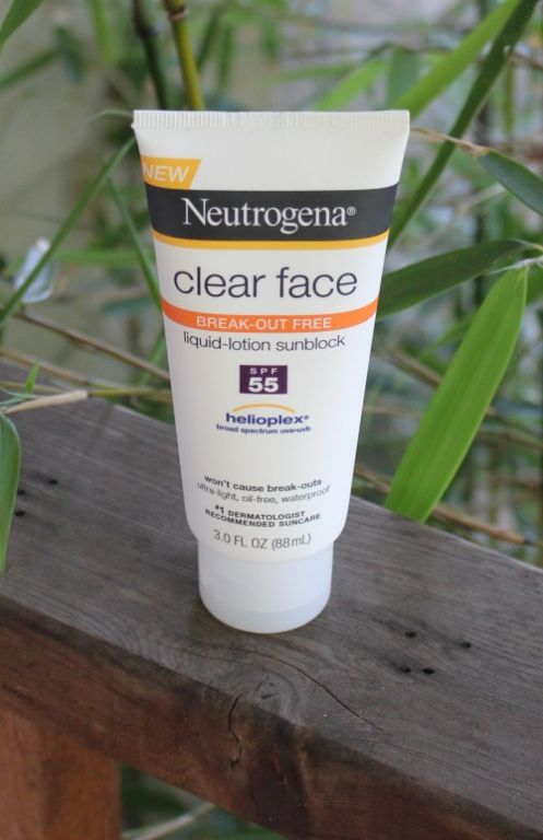 Neutrogena Clear Face Sunblock Lotion SPF 55
