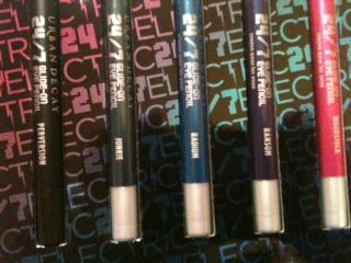 Urban Decay 24/7 Travel Size Set of 5 ELECTRIC
