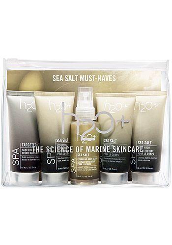 H2O Spa Sea Salt Must-Haves Set