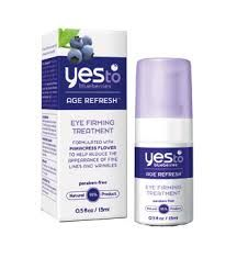 Yes To Carrots Yes to Blueberries Age Refresh Eye Firming Treatment
