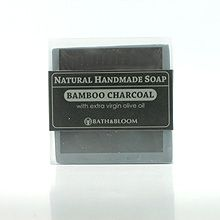 Bath & Bloom Bamboo Charcoal Soap with EVOO
