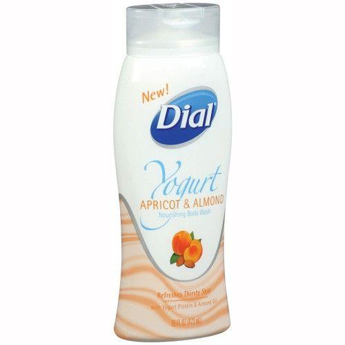 Dial Yogurt Apricot and Almond Nourishing Body Wash