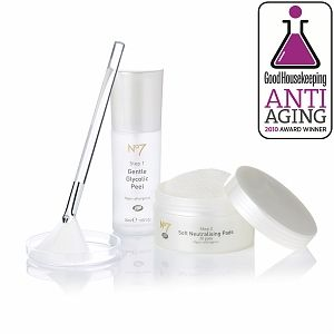 Boots  No.7 Anti Ageing Glycolic Peel Kit