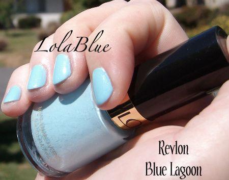 Revlon Nail Enamel - Blue Lagoon