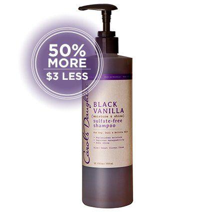 Carol's Daughter Black Vanilla (Moisturizing) Sulfate-Free Shampoo