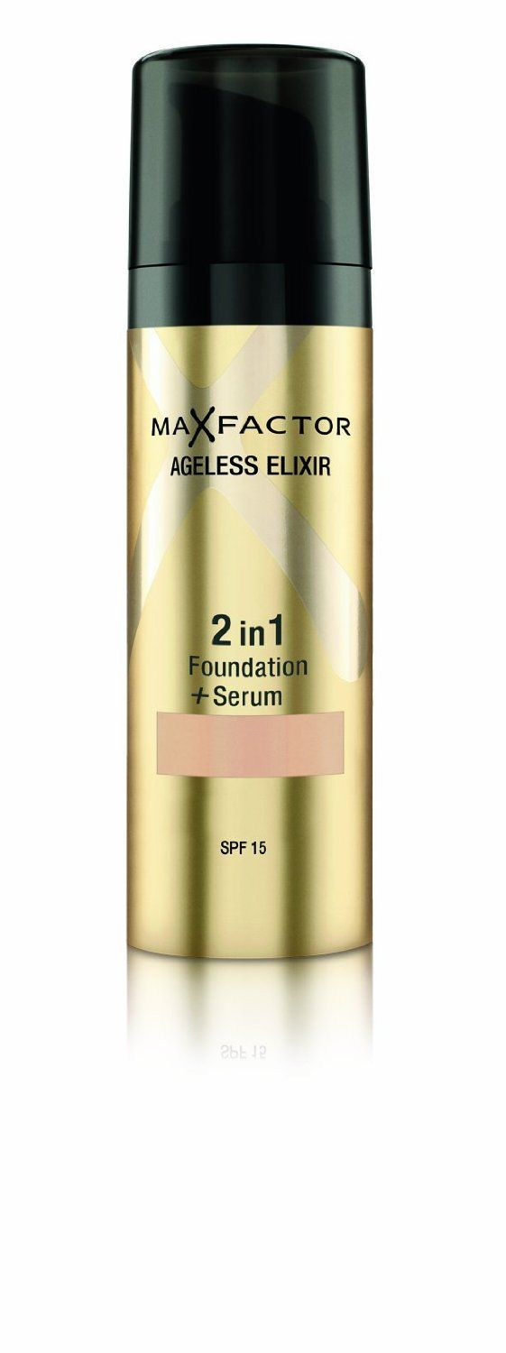 Max Factor Max Factor Ageless Elixir 2 in 1 Foundation Plus Serum SPF 15