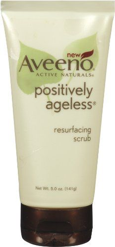 Aveeno positively ageless resurfacing scrub with vitamin c