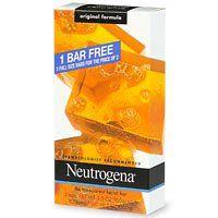 Neutrogena Neutrogena Original Formula Fragrance Free Transparent Facial Bar