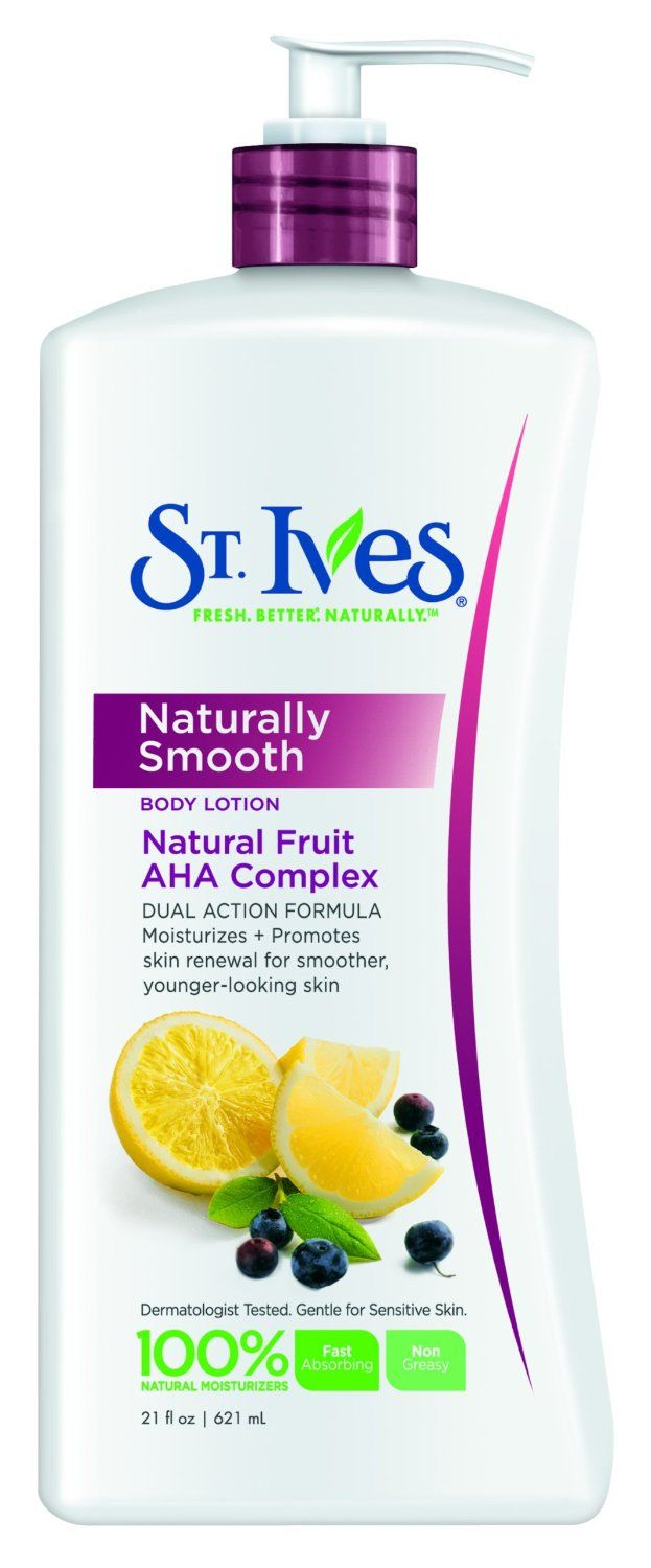 St. Ives Naturally Smooth Body Lotion