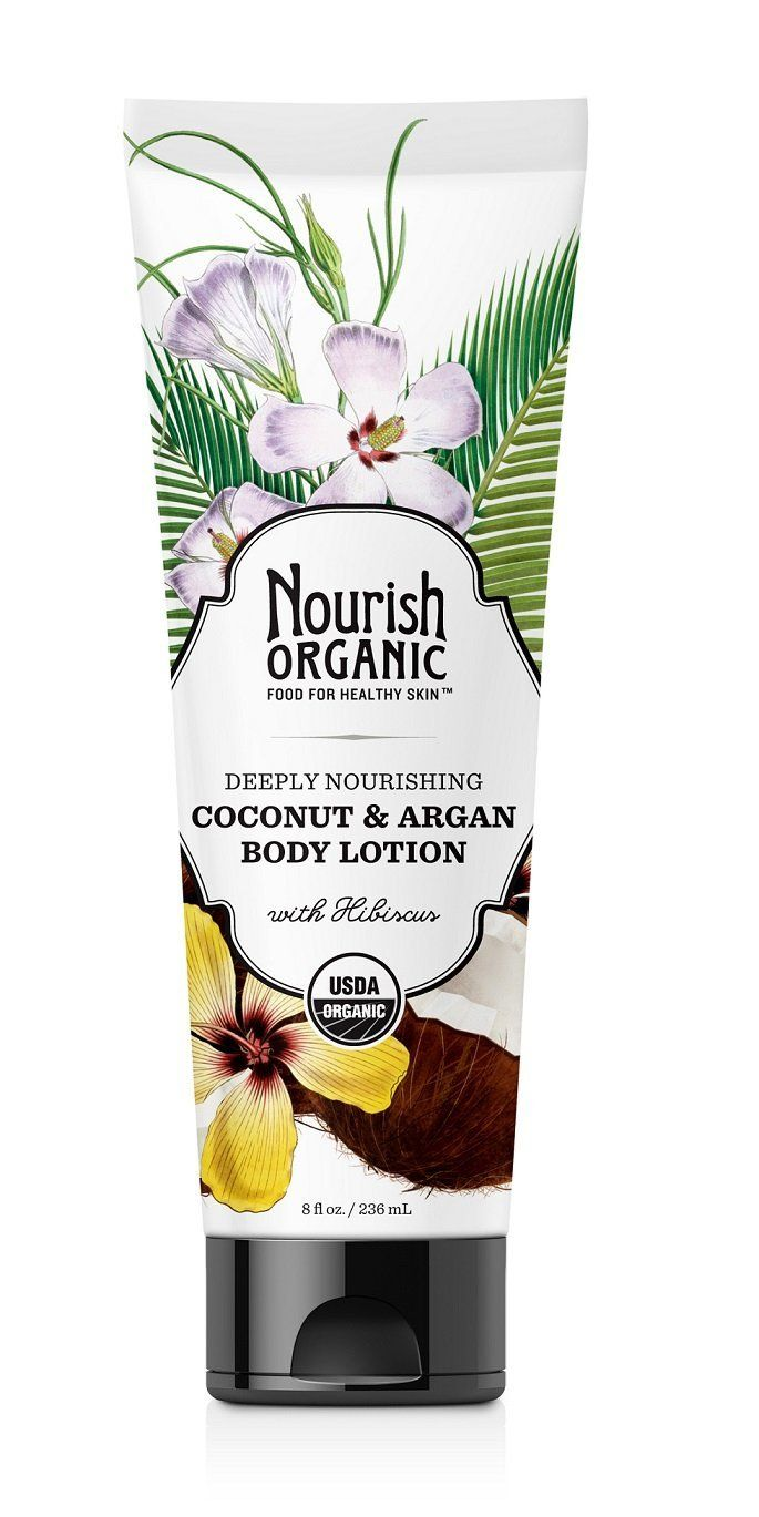 Nourish Organic - Deeply nourishing coconut & argan body lotion