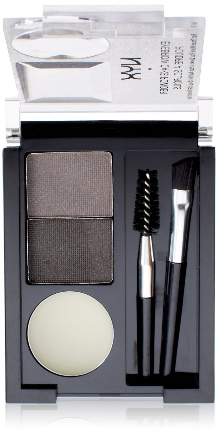 NYX Eyebrow Cake Powder - Black/Grey