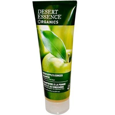 Desert Essence Organics Green Apple & Ginger Thickening & Volumizing Shampoo