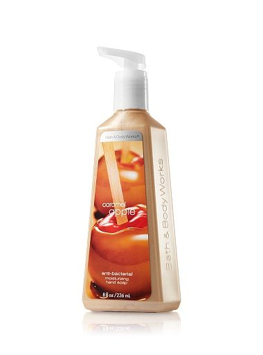 Bath and Body Works Caramel Apple Anti-Bacterial Moisturizing Hand Soap