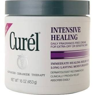 Curel Intensive Healing Daily Fragrance-Free Cream for Extra-Dry/Sensitive Skin