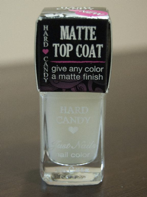 Hard Candy Matte Topcoat