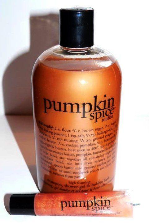 Philosophy Pumpkin Spice Muffin 3-in-1