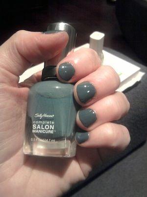Sally Hansen Complete Salon Manicure - Gray by Gray