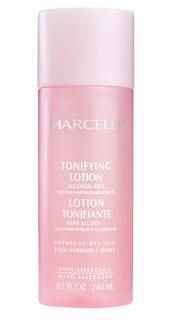 Marcelle Dry Skin Toner pink bottle