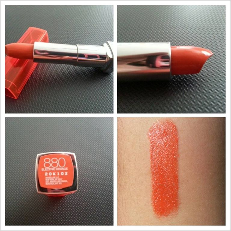 Maybelline Color Sensational Vivids - Electric Orange 880