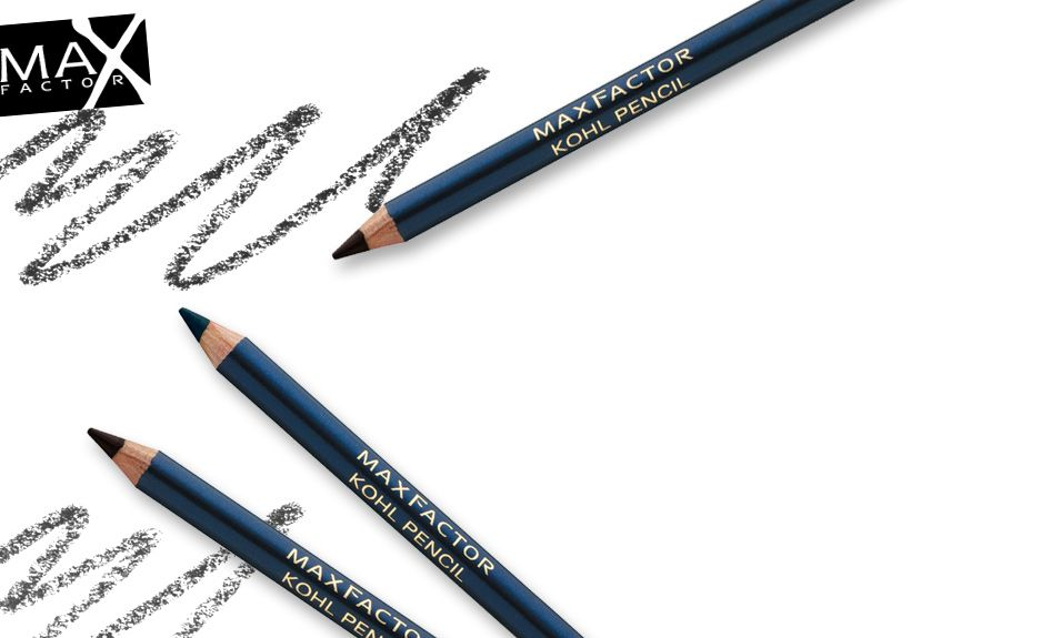 Max Factor Kohl pencil in 020 Black