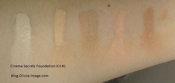 Cinema Secrets Foundation Concealer Discontinued Reviews