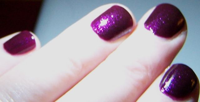 Estee Lauder Pure Color Nail Lacquer in Ultra Violet