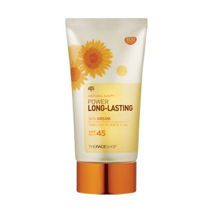 TheFACEShop Natural Sun Power Long Lasting Sun Cream SPF 45 PA+++