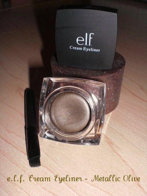 E.L.F. Cream Eyeliner - Metallic Olive