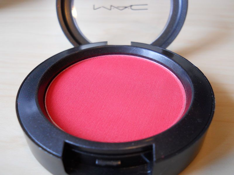 MAC Matte Blush - Frankly Scarlet