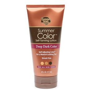 Banana Boat Summer Color Sunless Lotion Deep Dark