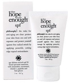 Philosophy when hope is not enough spf